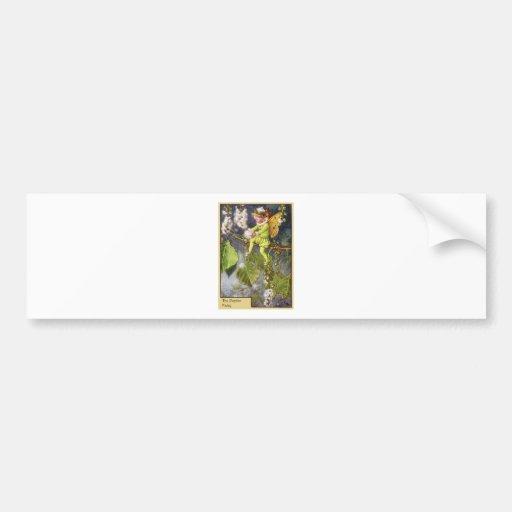 Hada del álamo etiqueta de parachoque