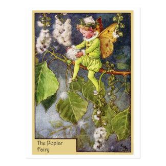 Hada del álamo tarjetas postales