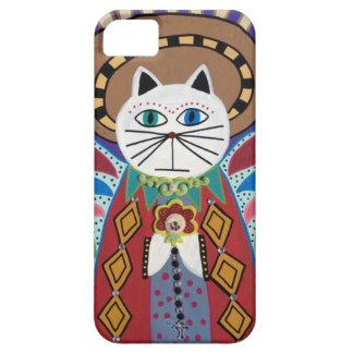 Hada del ángel del gato del caso del iPad del Funda Para iPhone SE/5/5s
