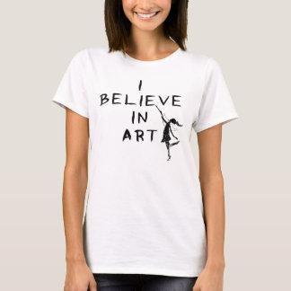 Hada del arte: Creo en arte Playera