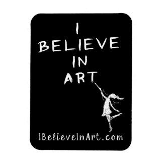 Hada del arte: Creo en valor promocional del arte Imán Flexible