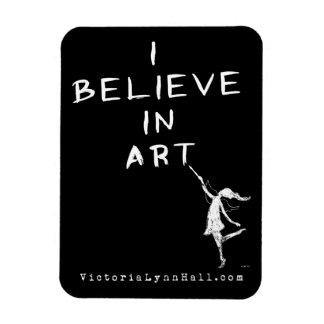 Hada del arte: Creo en valor promocional del arte Imanes Flexibles