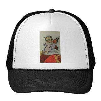 Hada del bebé con el conejito gorra