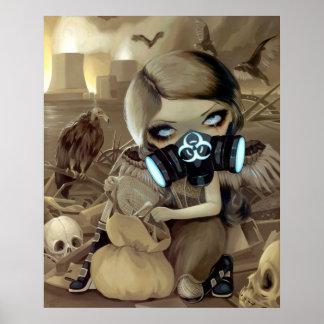 Hada del buitre del gótico del Cyberpunk de la IMP Póster