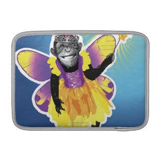 Hada del chimpancé funda para macbook air