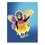 Hada del chimpancé postales