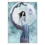 Hada del claro de luna tarjetas