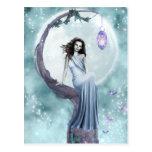 Hada del claro de luna tarjetas postales