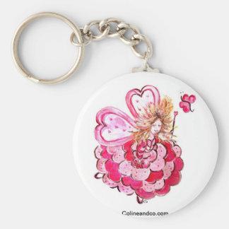 Hada del corazón mariposa Colineandco Llaveros Personalizados