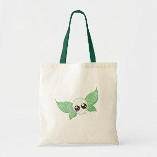 Hada del cráneo - verde bolsa de mano