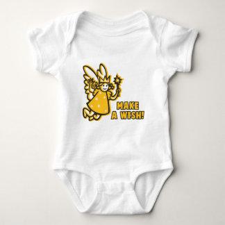 Hada del deseo mameluco de bebé