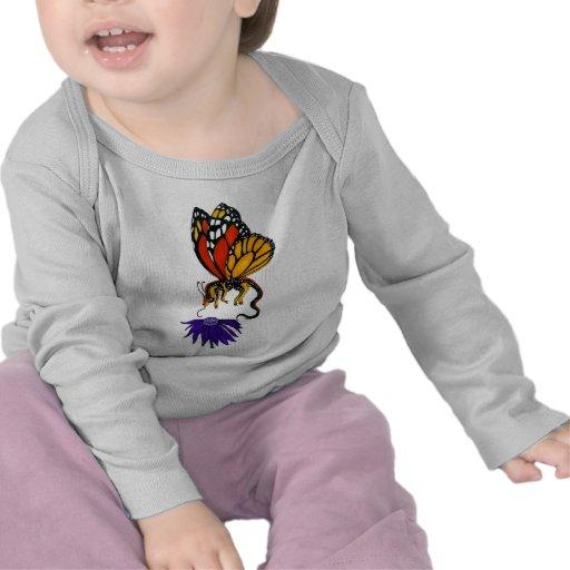 Hada del dragón del monarca camisetas