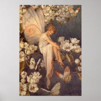 Hada del flor - impresión posters