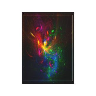 hada del fractal lona estirada galerias