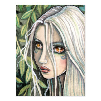 Hada del Imp del bosque del cervatillo por Molly Tarjeta Postal