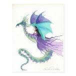 hada del jinete del dragón tarjetas postales