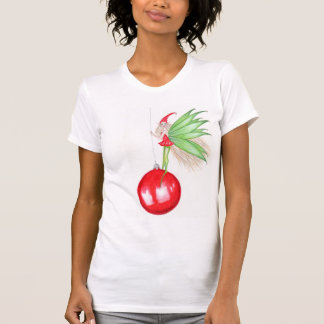 Hada del navidad - camiseta polera