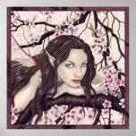 Hada del poster de la floración de la primavera
