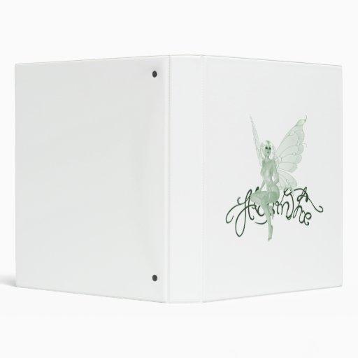 "Hada del verde de la firma del arte del ajenjo - a carpeta 1"""