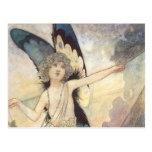 Hada del vintage de Charles Robinson, 1911 Postales