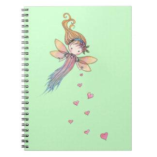 Hada dulce con el cuaderno de los chicas de los co