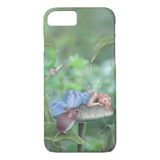 Hada durmiente y ratón de los sueños dulces funda iPhone 7