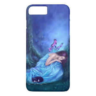 Hada durmiente y ratón de los sueños dulces funda iPhone 7 plus