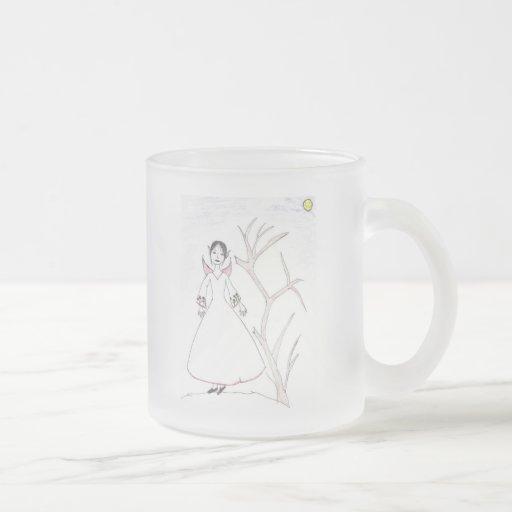 Hada en las maderas tazas de café