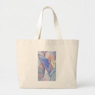 Hada en los rosas 2 bolsas de mano