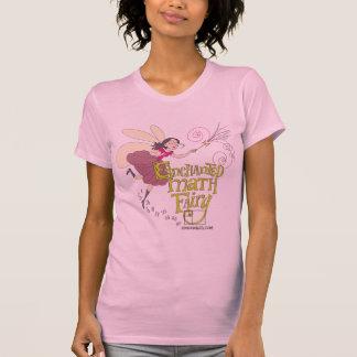 Hada encantada de la matemáticas camiseta