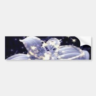 hada-flor pegatina de parachoque