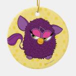 Hada Furby del ciruelo Ornamento Para Arbol De Navidad