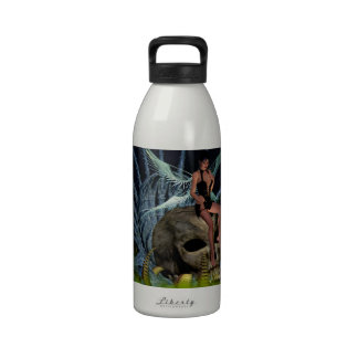 Hada gótica botella de agua