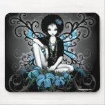 Hada gótica de Lilly del Afro retro de China Alfombrilla De Ratón
