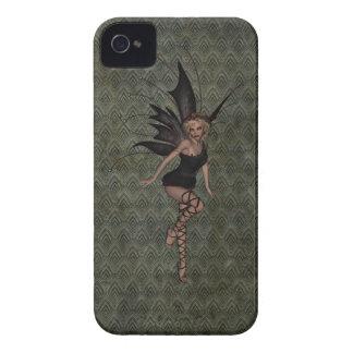 Hada gótica del vintage magnífico Case-Mate iPhone 4 cobertura