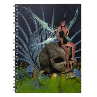 Hada gótica cuaderno