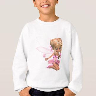 Hada linda de la bailarina de Toon en rosa - Sudadera