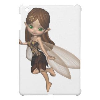 Hada linda de Toon en vestido de la flor de Brown