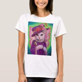 Hada madrina del gatito playera