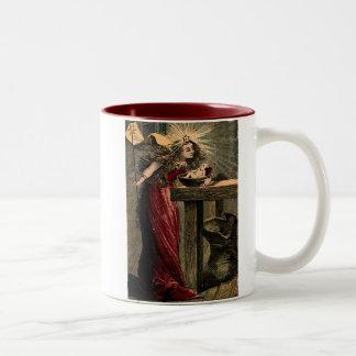 Hada madrina del vintage tazas de café