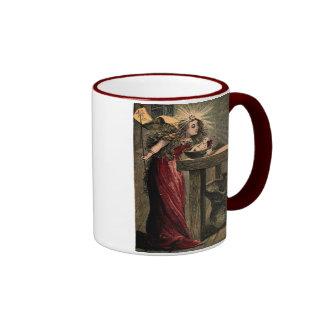 Hada madrina del vintage taza de café