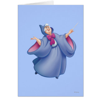 Hada madrina tarjeta de felicitación