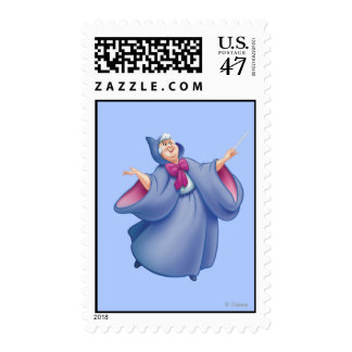 Hada madrina timbre postal