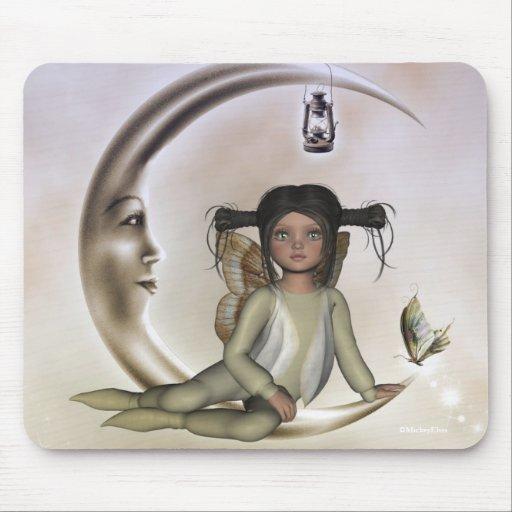 Hada Mousepad de la mariposa de Tiffany Chibi
