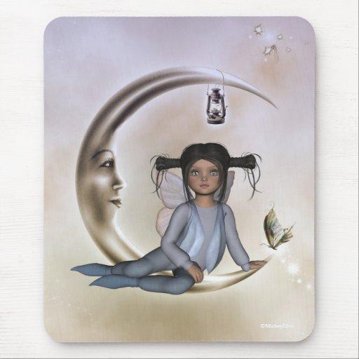 Hada Mousepad de la mariposa de Tiffany Chibi Alfombrilla De Ratón