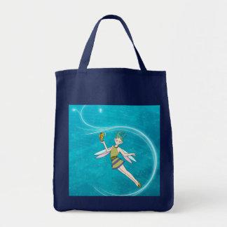 Hada - ninfa de agua bolsas de mano