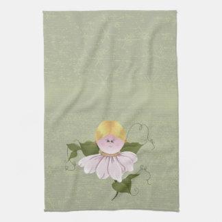 Hada o duendecillo linda toallas de cocina