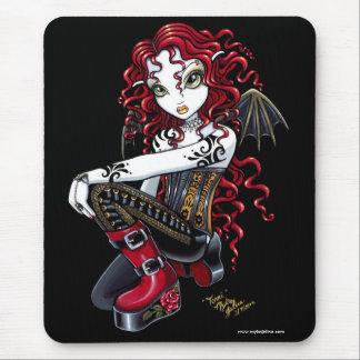 Hada roja Mousepad del tatuaje de Terri Alfombrilla De Ratones