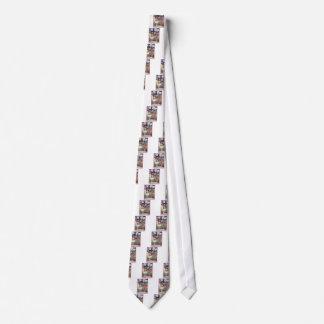 Hada rosada corbata personalizada