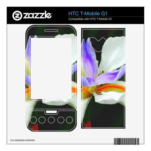 Hada salvaje del iris HTC T-Mobile g1 calcomanía